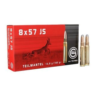 Geco 8x57 IS Teilmantel 185 grs SP