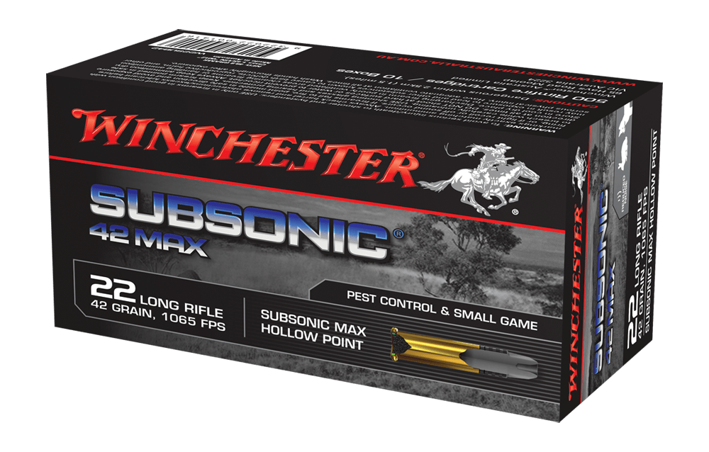Winchester .22 LR 42g,