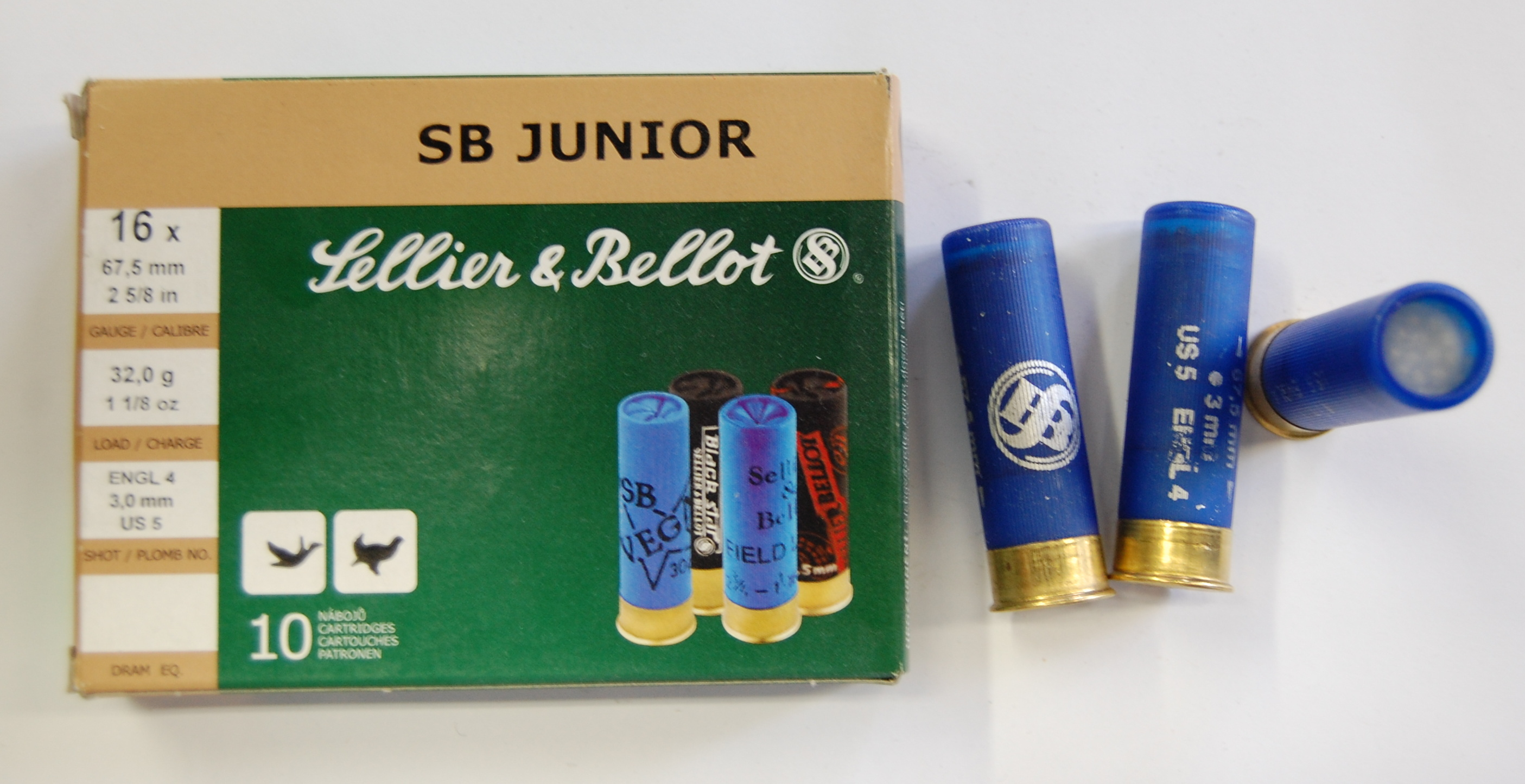 SB 16/67,5/4,5 MM SB JUNIOR 32G