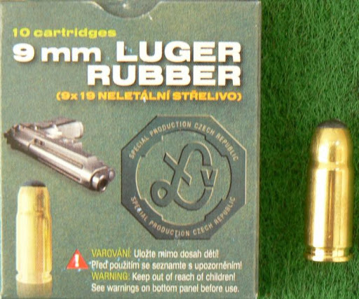 9mm Luger Rubber